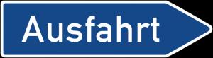 Ausfahrt